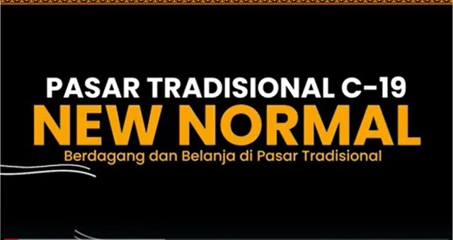 New Normal Pasar Tradisional Provinsi Lampung